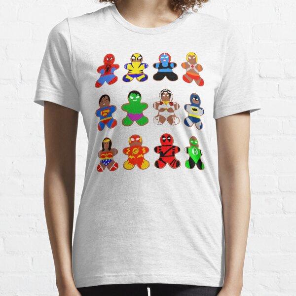 Superhero Gingerbread Man Essential T-Shirt