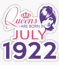 It's My Birthday 96. Made In July 1922. 1922 Gift Ideas. Sticker
