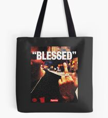 """""""BLESSED"""" - Street Style Tote Bag"""