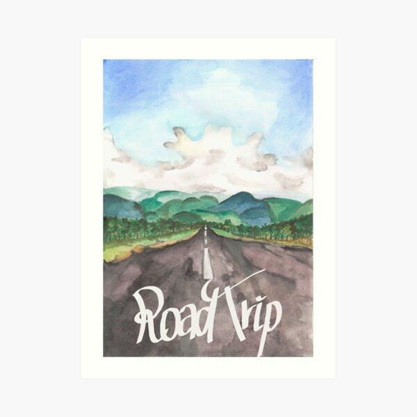 Road Trip - Costa Rica Kunstdruck