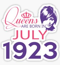 It's My Birthday 95. Made In July 1923. 1923 Gift Ideas. Sticker