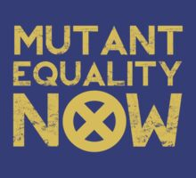 X-Men Mutant Equality NOW T-shirt | Unisex T-Shirt