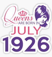 It's My Birthday 92. Made In July 1926. 1926 Gift Ideas. Sticker