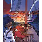Sailing Sunset by KAMIcomics