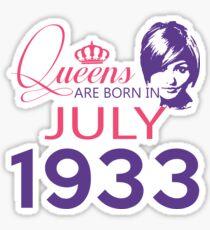 It's My Birthday 85. Made In July 1933. 1933 Gift Ideas. Sticker
