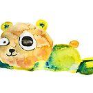 unconscious teddy bear by ozgunevren