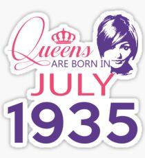 It's My Birthday 83. Made In July 1935. 1935 Gift Ideas. Sticker
