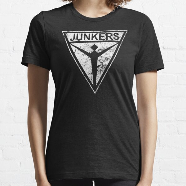 Junkers Stuka Germany WW2 Bomber White Essential T-Shirt