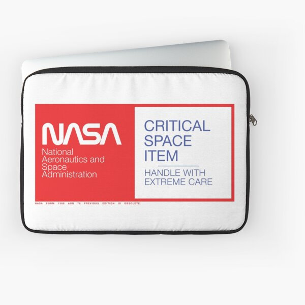 NASA Critical Space Item Laptop Sleeve