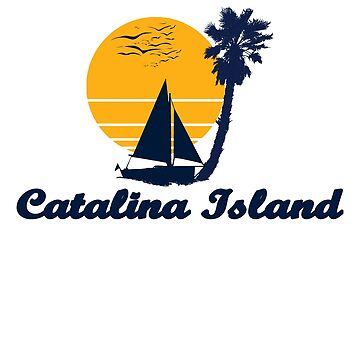 Catalina Island Sunset Beach Party Gift Idea  by hani26may