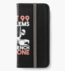 fitness iPhone Wallet/Case/Skin