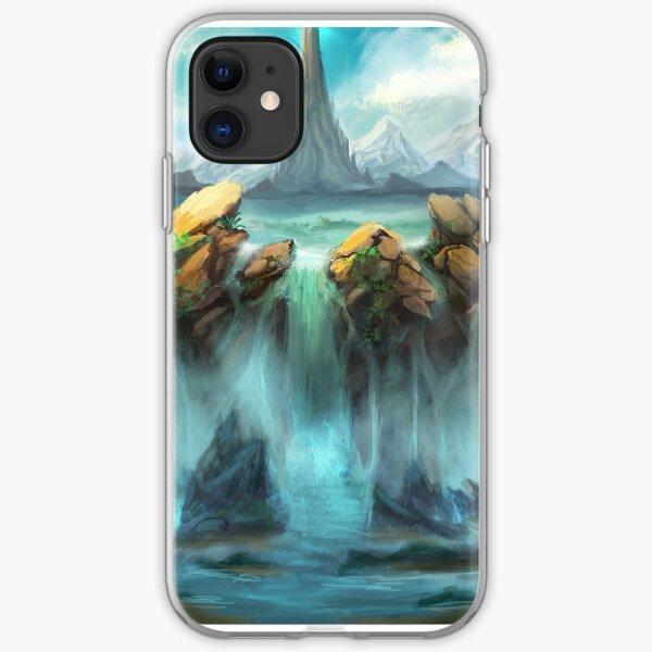 Mountain Falls iPhone Soft Case