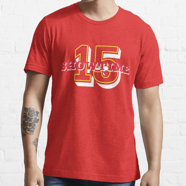 Mahomes Means SHOWTIME in KC Essential T-Shirt