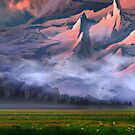 «Montañas Nubladas» de Johannes Kert Roots