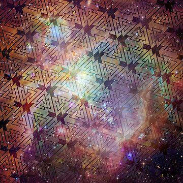 Valknut Galaxy Pattern by spookydooky
