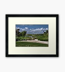 Riveria Palace Golf Course Framed Print