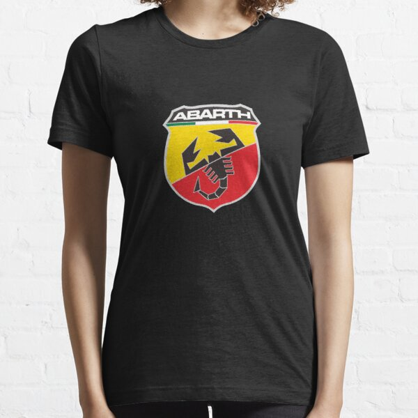 Abarth Logo Marchandise T-shirt essentiel