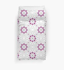 Geometric Pattern - Oriental Design  Duvet Cover