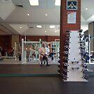 Self Portrait - at the Gym by Pilgrim