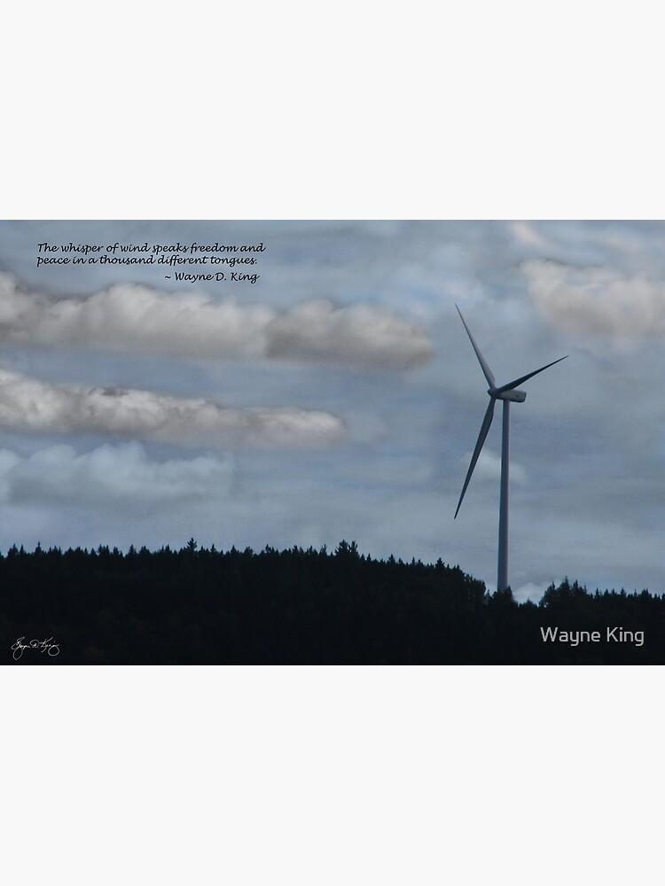 The Whisper of Wind Speaks Freedom by waynedking