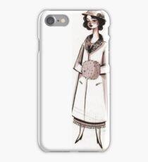 1920s Socialite iPhone Case/Skin