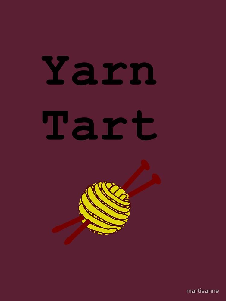 Yarn Tart by martisanne