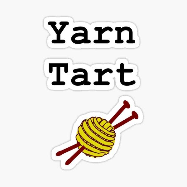 Yarn Tart Sticker