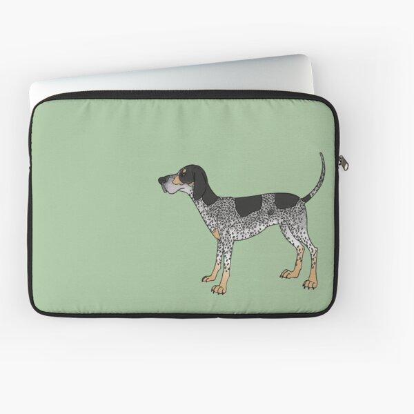 Bluetick Coonhound Laptop Sleeve