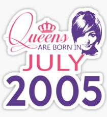 It's My Birthday 13. Made In July 2005. 2005 Gift Ideas. Sticker