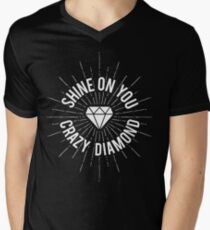 Shine On You Crazy Diamond Men's V-Neck T-Shirt