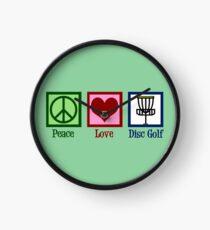 Reloj Peace Love Disc Golf