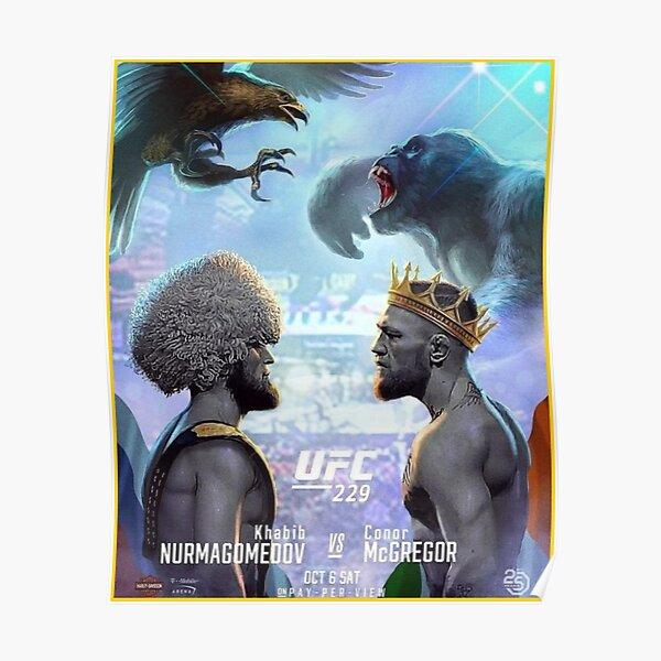"""""""Khabib vs McGregor - UFC 229 """" Poster"""