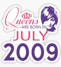 It's My Birthday 9. Made In July 2009. 2009 Gift Ideas. Sticker