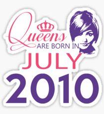 It's My Birthday 8. Made In July 2010. 2010 Gift Ideas. Sticker