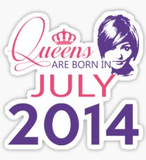 It's My Birthday 4. Made In July 2014. 2014 Gift Ideas. Sticker