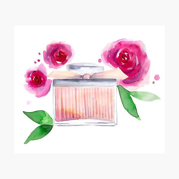 Rose Perfume Photographic Print