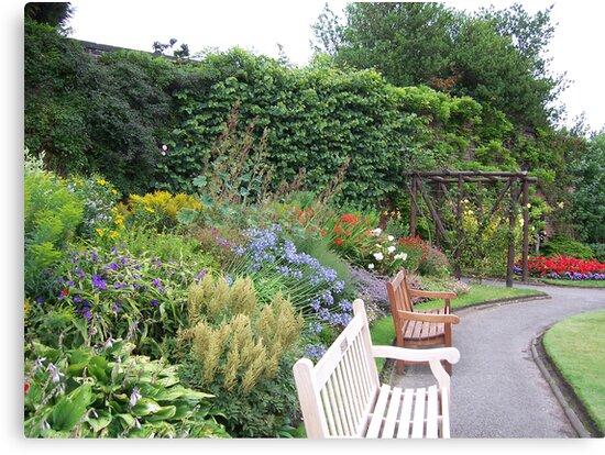 Walled garden, Reynolds Park by susanmcm