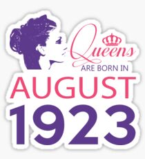 It's My Birthday 95. Made In August 1923. 1923 Gift Ideas. Sticker