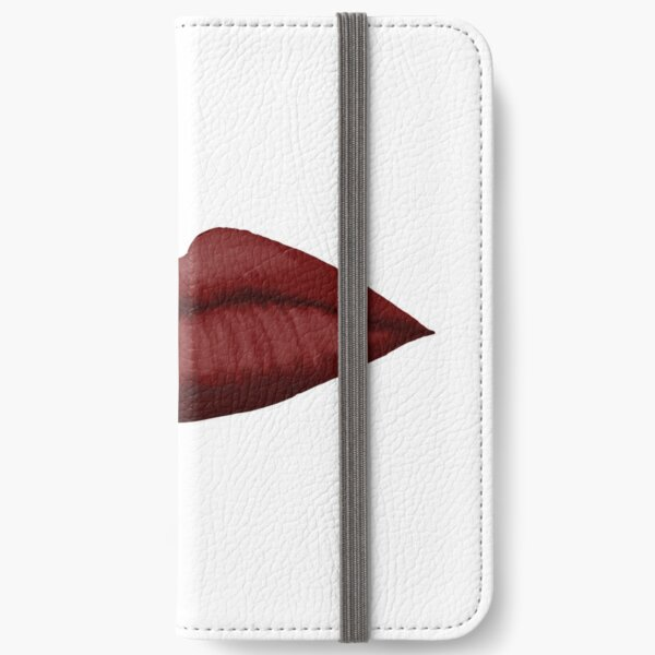 Lips (red) iPhone Wallet
