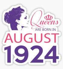 It's My Birthday 94. Made In August 1924. 1924 Gift Ideas. Sticker