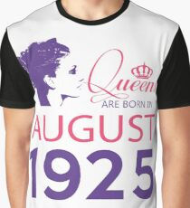 It's My Birthday 93. Made In August 1925. 1925 Gift Ideas. Graphic T-Shirt