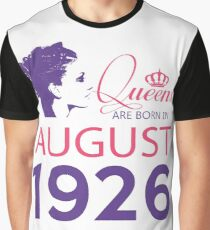 It's My Birthday 92. Made In August 1926. 1926 Gift Ideas. Graphic T-Shirt