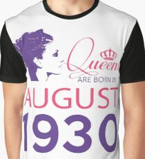 It's My Birthday 88. Made In August 1930. 1930 Gift Ideas. Graphic T-Shirt