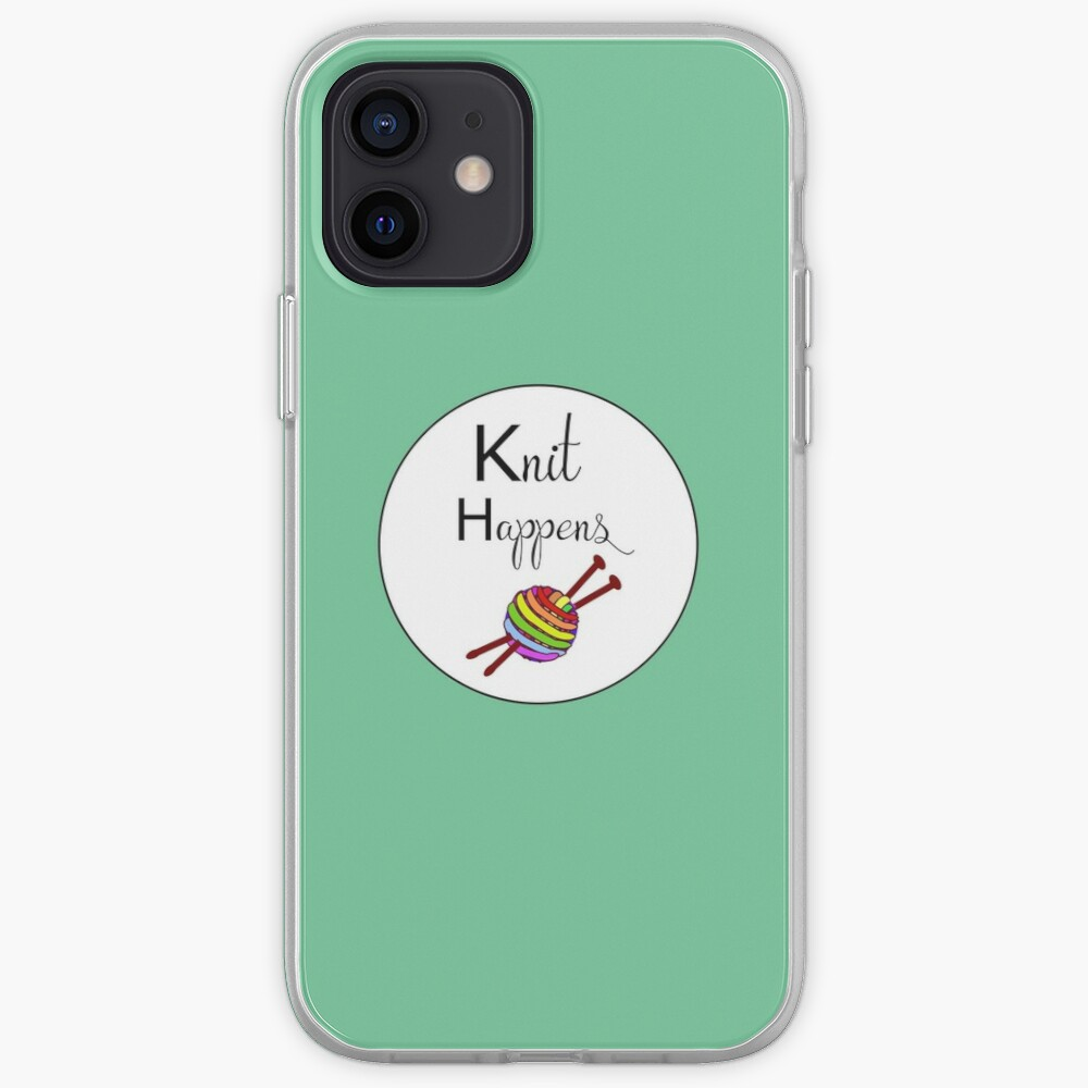 Knit happens iPhone Case & Cover