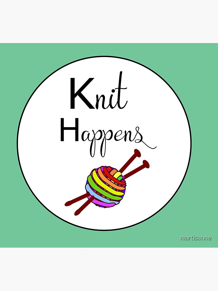 Knit happens by martisanne