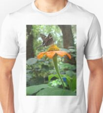 Long-tailed Skipper on Mexican Sunflower Unisex T-Shirt