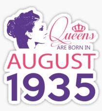 It's My Birthday 83. Made In August 1935. 1935 Gift Ideas. Sticker