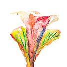 colorful flower by ozgunevren
