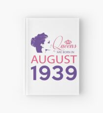 It's My Birthday 79. Made In August 1939. 1939 Gift Ideas. Hardcover Journal