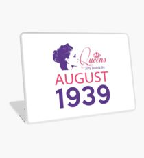 It's My Birthday 79. Made In August 1939. 1939 Gift Ideas. Laptop Skin